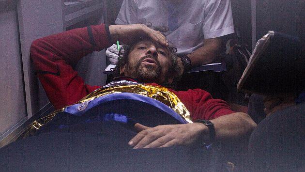 Espeleólogo español rescatado tiene pensado regresar a cueva de Leimebamba. (EFE/América TV)