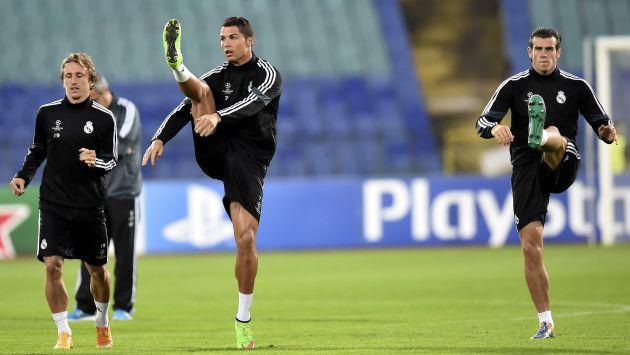 Real Madrid sale por otra goleada en la Champions