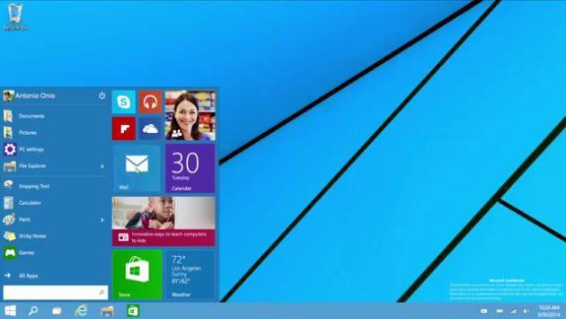 Windows 10: Versión beta del sistema operativo ya puede descargarse