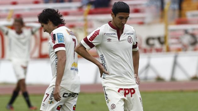 Universitario perdió 2-0 con Unión Comercio. (USI/CMD-Movistar TV)