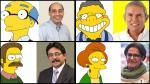 Elecciones 2014: Candidatos a la alcaldía de Lima y sus 'dobles' en Los Simpson - Noticias de los simpson