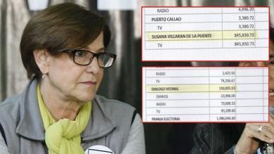 Susana Villarán, Elecciones 2014, Diálogo Vecinal, Publicidad electoral