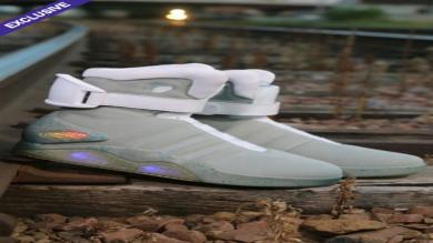 'Volver al futuro': Ponen a la venta las zapatillas de Marty McFly