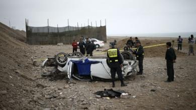San Miguel, Accidente de tránsito, Carlos Burgos, Avenida Costanera
