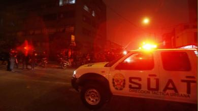Policía Nacional, UDEX, Explosión, Surquillo