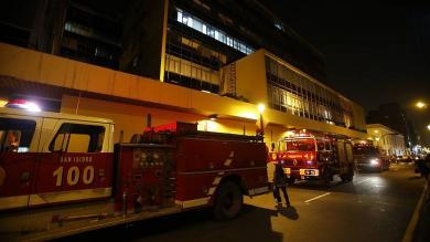 Incendio, Ministerio de Economía y Finanzas