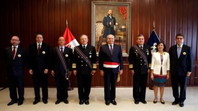 La Haya, Claudio de la Puente, Gustavo Meza-Cuadra Velásquez, Carlos Herrera Rodríguez, Marisol Agüero Colunga, Juan José Ruda