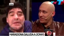 Diego Maradona, Jonás Gutiérrez