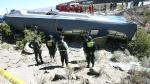 Áncash: 13 personas murieron en accidente vial cuando venían a votar a Lima - Noticias de vuelco