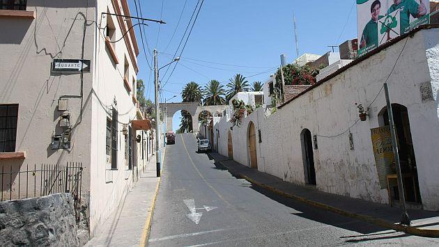 Defensa Civil mapeó viviendas de Arequipa según su material de construcción. (Heiner Aparicio)