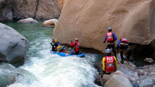Turistas desaparecieron tras caer a las aguas del rio Apurímac mientras hacían canotaje. (USI/Referencial)