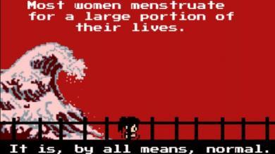 Videojuegos, Menstruación, Tampones, Tampon Run