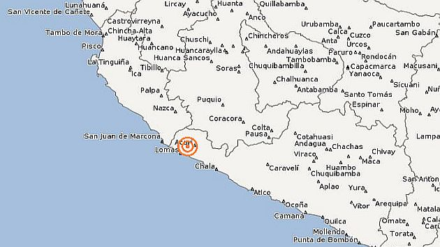 Defensa Civil no ha reportado víctimas ni daños por el sismo. (IGP)