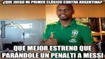 Brasil vs Argentina: Memes que dejó el Superclásico de las Américas