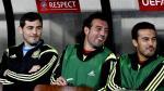 Iker Casillas fue suplente en la goleada de España a Luxemburgo - Noticias de eliminatoria europea