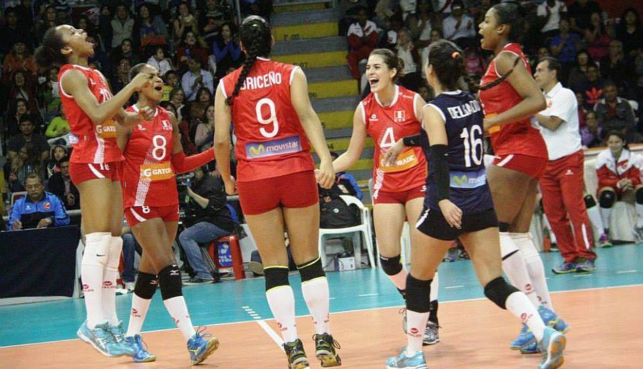 Perú venció 3-0 a República Dominicana en el Final Four Sub 20 de Vóley. (Federación Peruana de Vóley)
