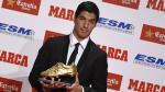 Europa League: Luis Suárez recibió la Bota de Oro - Noticias de carles puyol