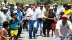 Piura: Ollanta Humala inauguró obras de mejoramiento en Panamericana Norte - Noticias de paita