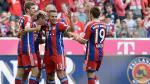 Bayern Munich aplastó 6-0 al Werder Bremen por la Bundesliga - Noticias de xabi alonso
