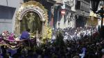Señor de los Milagros: Fervor y devoción durante su segundo recorrido - Noticias de susana palacios