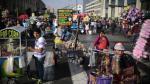 Señor de los Milagros: Avenida Abancay se convirtió en feria y mercado - Noticias de cristo moreno