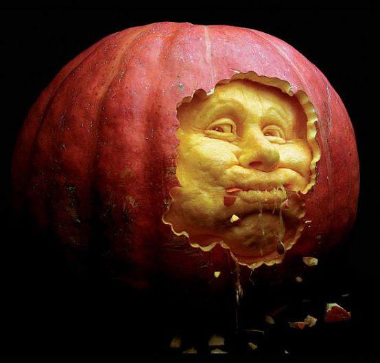 Halloween: Calabazas hechas arte por Ray Villafane