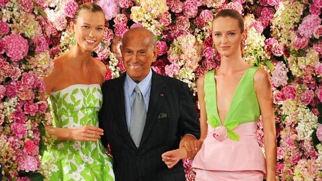 La moda de luto: Óscar de la Renta murió a los 82 años