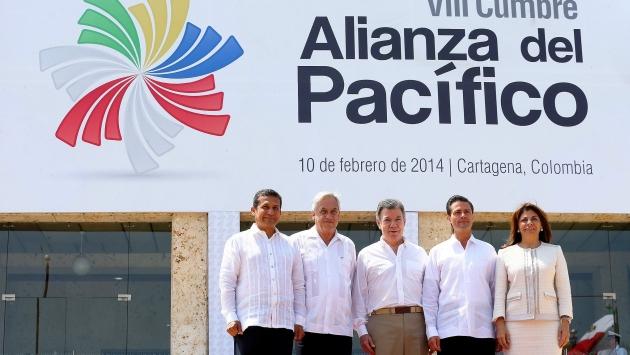 Bloque está conformado por Perú, Chile, Colombia y México. (USI)