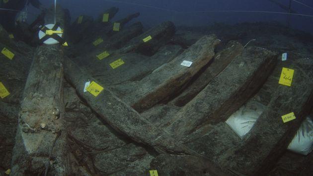 Hallazgo se hizo cerca a la isla griega de Zakynthos. (EFE)