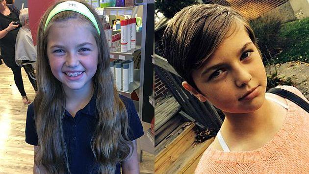 EEUU: Niña donó su cabello y ahora es víctima de bullying