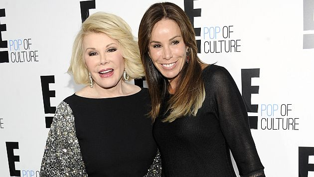 Hija de Joan Rivers recibirá herencia de más de US$100 millones