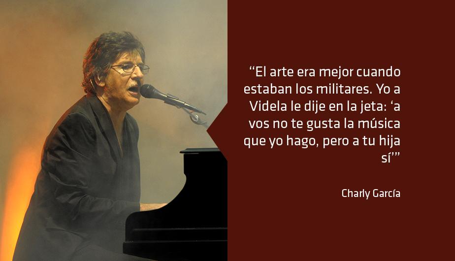 Charly García y sus 10 frases más polémicas
