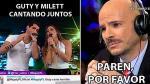 El reencuentro entre Milett Figueroa y Guty Carrera en memes