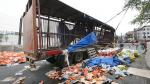 Barranca: Choque entre camioneta y camión de gaseosas dejó ocho heridos - Noticias de accidente de transito