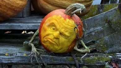 Esculturas, Halloween, Calabazas, Ray Villafane