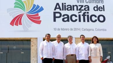 Perú, Chile, Colombia, México, Alianza del Pacífico