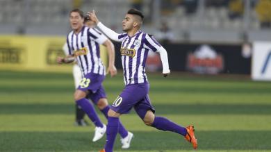 Alianza venció 1-0 a la 'U' con gol de Víctor Cedrón y toma la punta