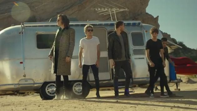 One Direction estrenó el videoclip de 'Steal My Girl'