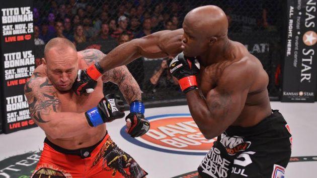 Bellator: Lashley, ex luchador de WWE, ganó por KO
