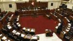Congreso aprobó prohibir la reelección inmediata de presidentes regionales