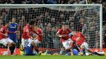 Manchester United empató a Chelsea en el último minuto con gol de Van Persie - Noticias de diego costa
