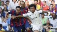 """Xavi Hernández sobre el Real Madrid: """"Ellos viven de las contras"""". (Cortesía: marca.com)"""