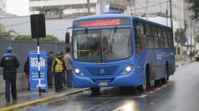 Corredor Azul, Metropolitano, Protransporte