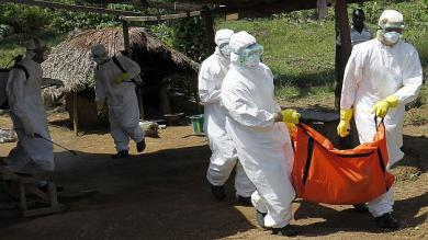 OMS, Liberia, Ébola
