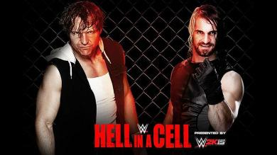 Hell In A Cell, Dean Ambrose, Seth Rollins