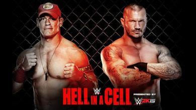 John Cena, Hell In A Cell, Randy Orton