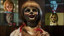 Cine, Chucky, Halloween, Annabelle, Tiffany, Billy, Mary Shaw, Slappy, Noche de Brujas