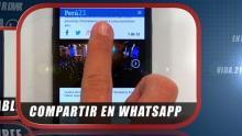 Perú21, Versión móvil