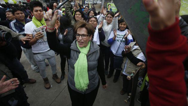 Susana Villarán: Gastos de campaña no coinciden con informe de la ONPE