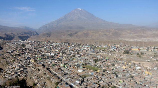 Muchos viven cerca del Misti. (Nadia Quinteros)